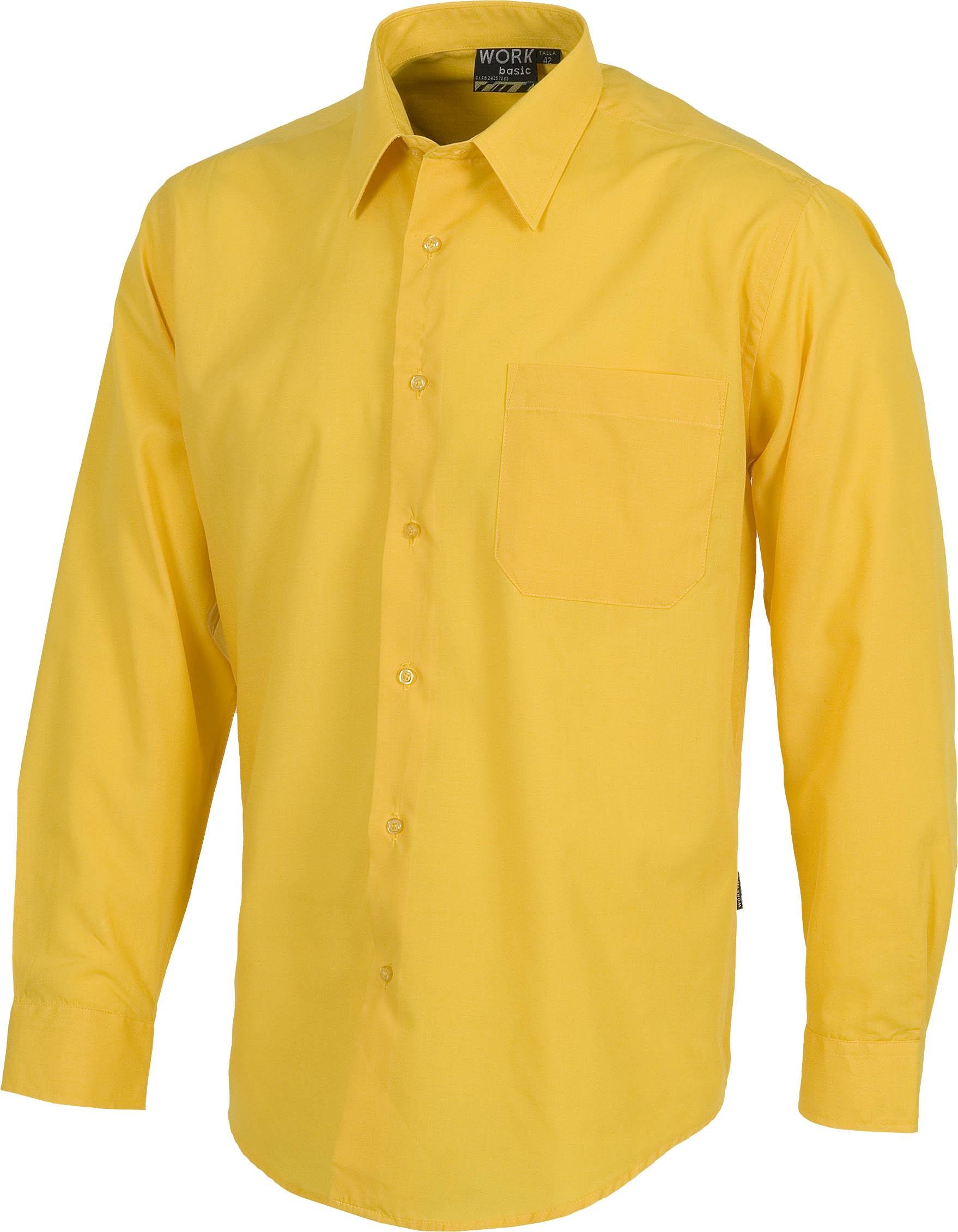 Trabajo Escon Laboral De Camisas Amarillas eEHW2YID9b