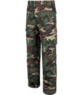 Pantalon caza camuflaje