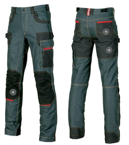 Pantalones De Trabajo Vaqueros Elasticos